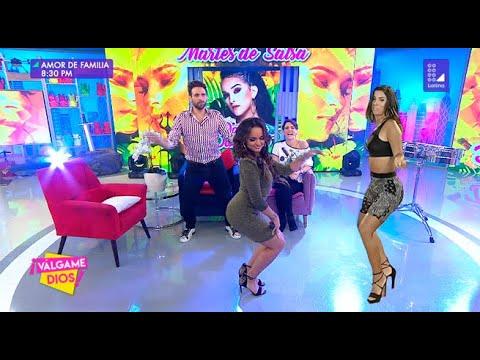¡Nunca lo imaginaste!: Daniela Darcourt baila 'el totó' junto a Yahaira Plasencia - Válgame Dios