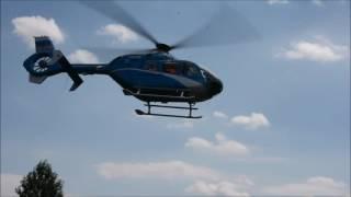 U Slaného těžce havaroval německý motorkář, do nemocnice ho transportoval vrtulník