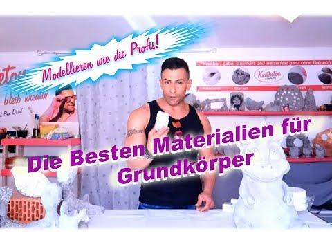 DIY: 3 TOP Tips Grundkörper Für Gartenfiguren Aus Knetebton !!!
