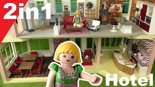 Playmobil deutsch - Pimp my PLAYMOBIL Hotel - 2in1 von Familie Hauser