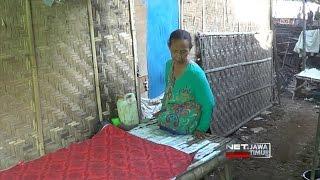 Net Jatim  Tak Punya Dua Kaki Nenek Imah Tetap Mandiri