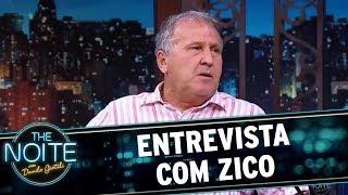 Entrevista com Zico   The Noite (07/11/17)