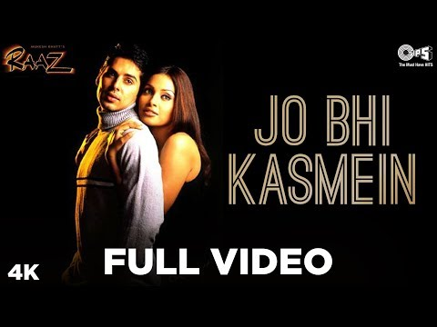 Jo Bhi Kasmein - Raaz | Bipasha Basu & Dino Morea | Udit Narayan & Alka Yagnik video