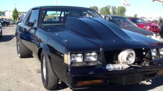 Buick Grand National 8.73@160 at Napierville