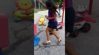 Kids playing at camp