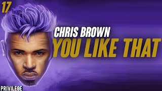 Chris Brown - You Like That (Lyrics)