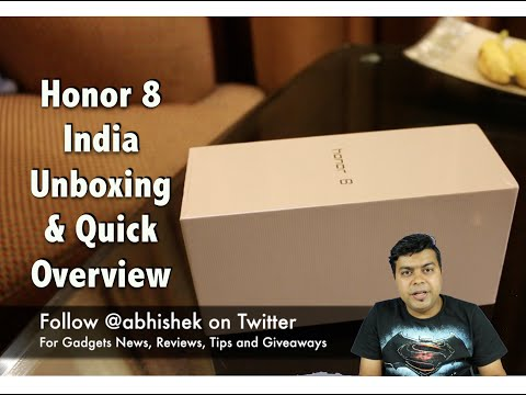 Honor 8 India Unboxing, First Look, Not a Review | Gadgets To Use