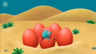 Dinosaur Games for Kids - Macthing Game - Macth it to crack the Egg (Part 2)- Gameplay