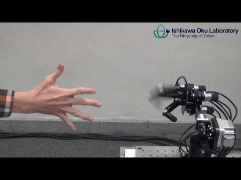 Janken (rock-paper-scissors) Robot with 100% winning rate:  2nd version