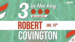 3 In The Key: Robert Covingtion - Jan. 13th