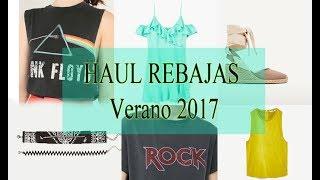 HAUL REBAJAS VERANO 2017: Zara, Mango, h&m, pimkie...try on haul//OJOSDEGATA MAKEUP