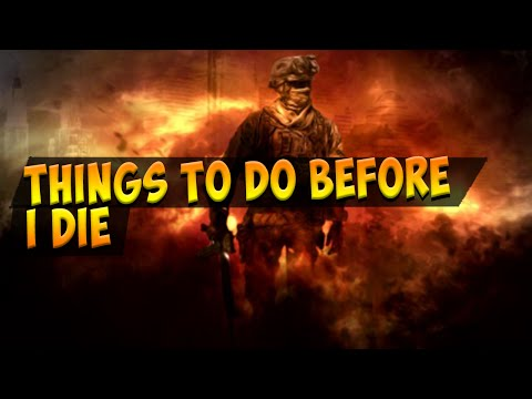Things to do before I DIE!! - MW2 Domination Fast Gameplay (triple fail)