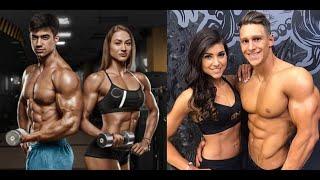 Couple Workout - Best Fitness Couple Motivation 2018