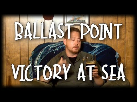 Craft Beer Review - Ballast Point Victory At Sea (And a Beer Mail!!!) Video