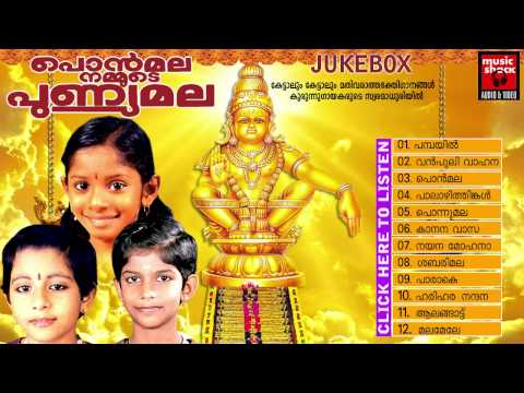 Ayyappa Devotional Songs Malayalam 2014 | Ponmala Nammude Punyamala | Audio Jukeboxjuke Box video
