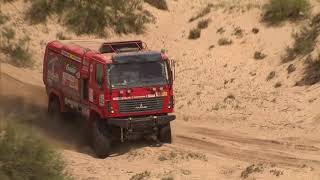 DAKAR 2018 01 16 STAGE 10 MAZ TEAM