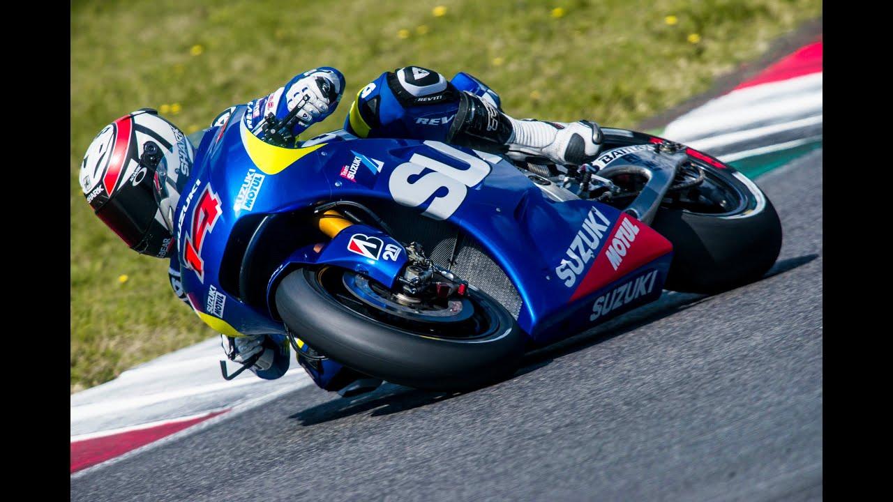 Suzuki MotoGP Testing - YouTube
