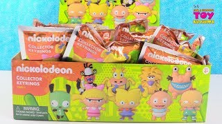 Nickelodeon Collector Keyrings Blind Bags Series 2 Full Box Toy Review | PSToyReviews