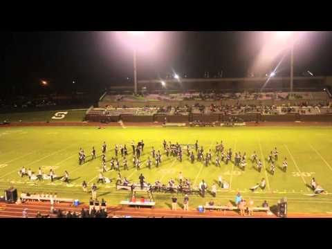 Statesboro High School MBD Half-time show Sept 5, 2014