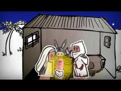 Historia Nacimiento Jesus En Belén. Cuento Navidad