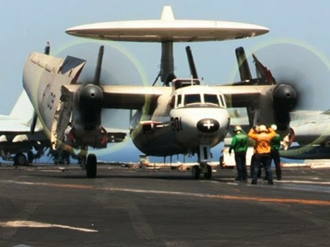 Raw: US Aircraft Operations in Arabian Sea