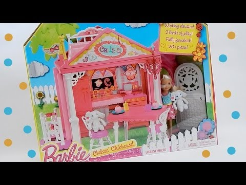 Chelsea's Clubhouse Barbie Sister Playset Toy Review