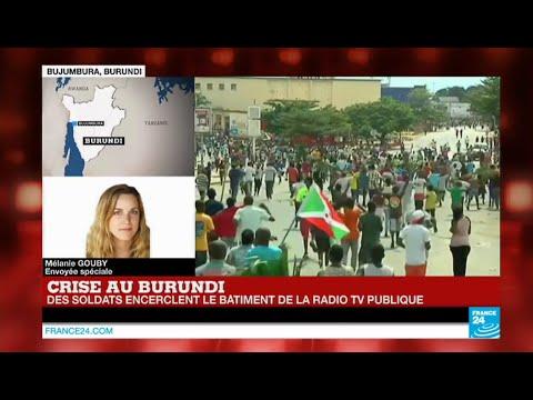 Tentative de coup d'Etat au Burundi : Nkurunziza annonce son retour à Bujumbura