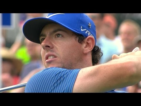Rory McIlroy's near ace on the par-3 16th at Deutsche Bank