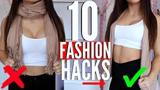 10 FASHION HACKS EVERY Girl MUST KNOW !!!