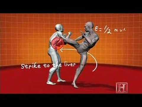 Human Weapon, Savate, Jab/Kick Combo, Image 1