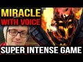 Miracle [With Voice] Super Intense Game Shadow Fiend Dota 2