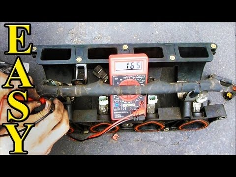 How to Test Fuel Injectors (Resistance with a Multimeter)