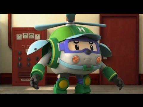 Робокар Поли - Трансформеры - Болото (мультфильм 17)