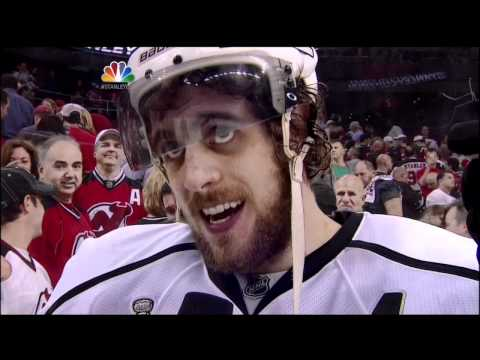 Anze Kopitar OT goal. LA Kings vs New Jersey Devils Stanley Cup Game 1 5/30/12 NHL Hockey