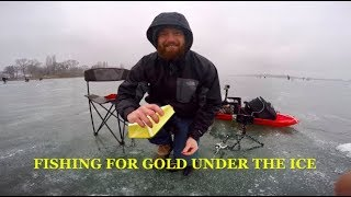 ICE FISHING ON MOSES LAKE!
