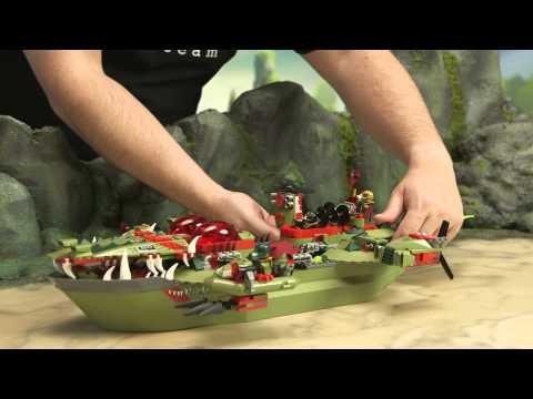 LEGO® Legends of Chima - Cragger's Command Ship 70006