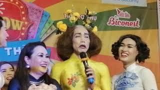 Lô tô show : Thanh Hằng hát ca cổ dài khủng hoảng và chất giọng hay khủng khiếp bài Túp lều lý tưởng