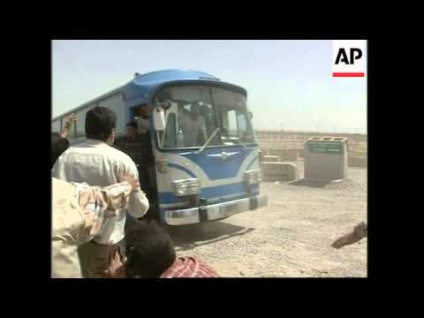 Iraqi prisoners released from notorious prison