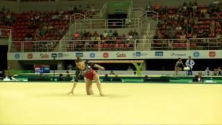 Rio de Janeiro - Test Event: Giorgia Campana / Corpo Libero (qualifiche)