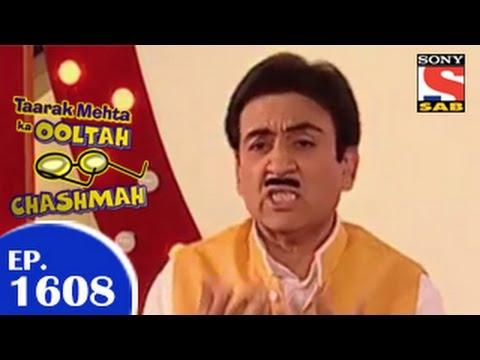 Taarak Mehta Ka Ooltah Chashmah - तारक मेहता - Episode 1608 - 16th February 2015 video