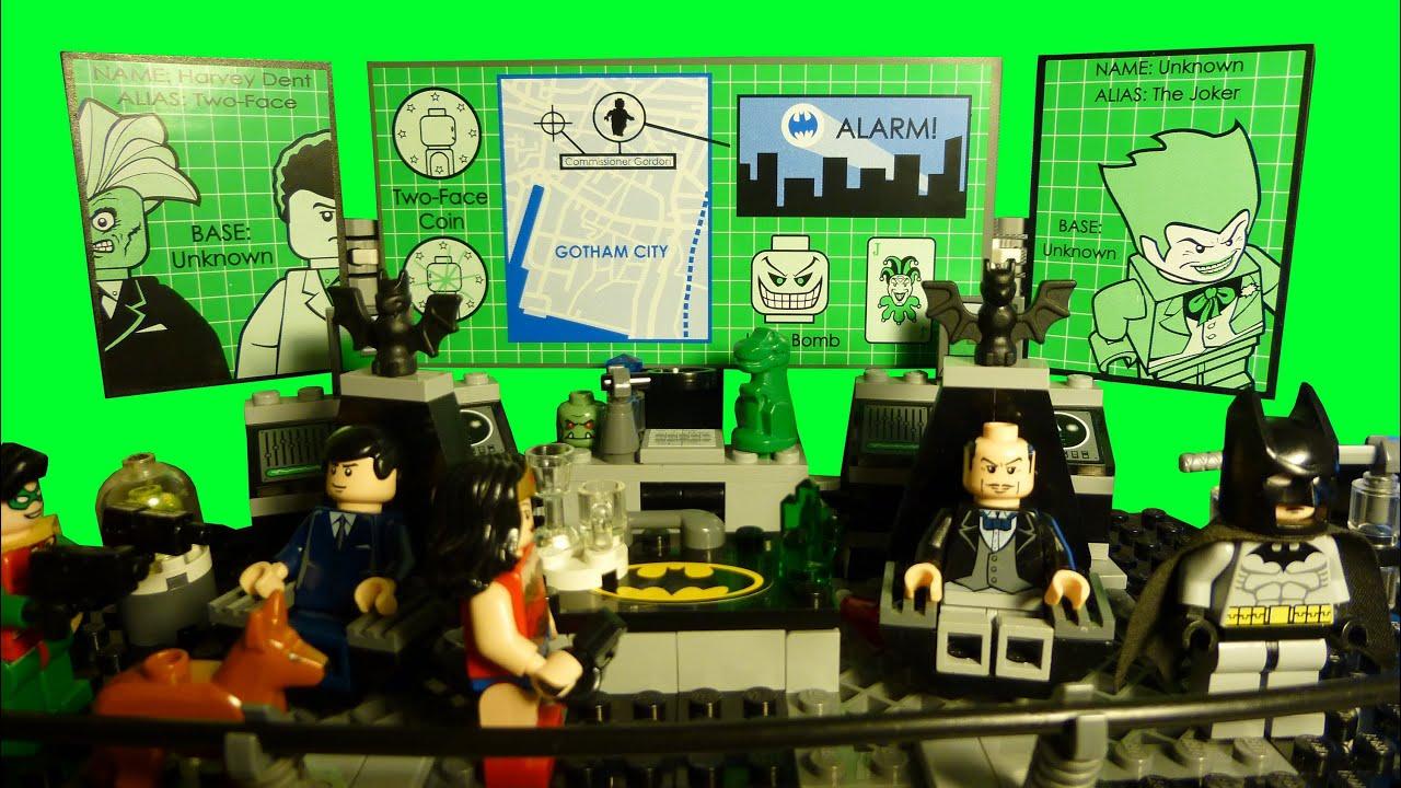 Lego Batman Batcave Custom Lego Batman The Batcave