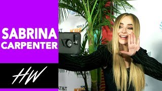 SABRINA CARPENTER Reveals Latest Dance Moves !