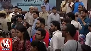 Man Attempts To Open Fire At JNU Student Leader Umar Khalid At An Event | Delhi