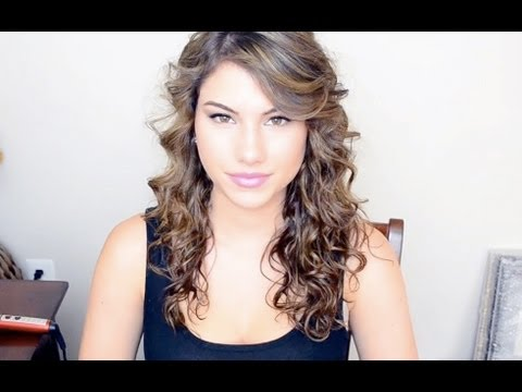 Taylor Swift Hair Tutorial (Curly Hair)