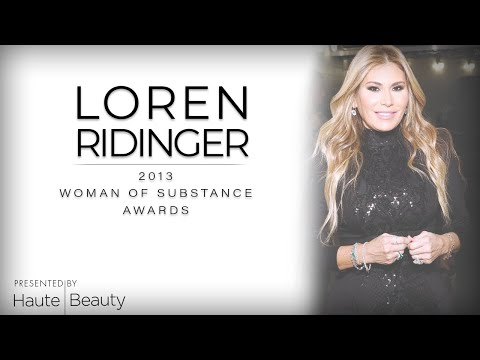 VIDEO: Loren Ridinger Receives Haute Living's Woman Of Substance Award At Hublot Dinner