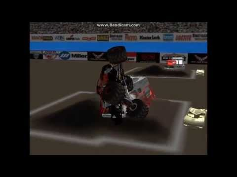 Back to monster jam madness with18 breakables & a RII switch (sim monsters)