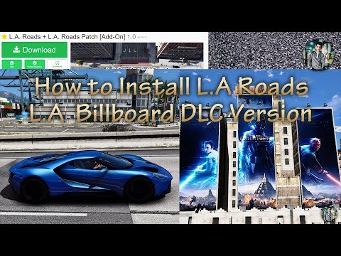 How to download and install L.A Roads + L.A Roads patch + L.A Billboard DLC Version 2017!