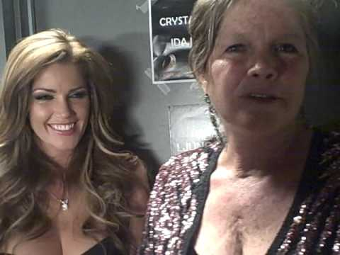 Mother/daughter Playboy Playmates Gale Olson & Crystal McCahiill Video