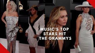 Music's top stars hit the Grammys