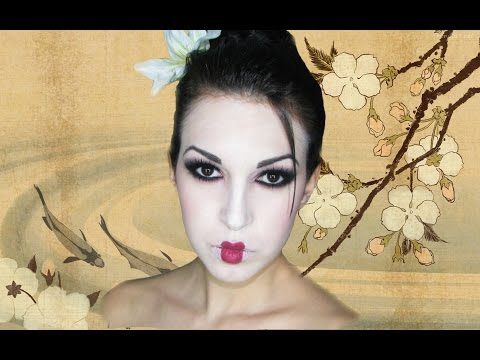 Maquillaje De Geisha. Geisha Makeup Tutorial video